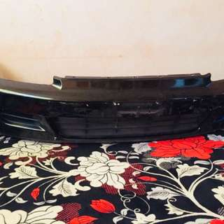 Bumper eg6 secondhand black color
