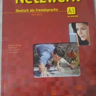 Netzwerk (Deutsch als fremdsprache) A1 kursbuch & Arbeitsbuch