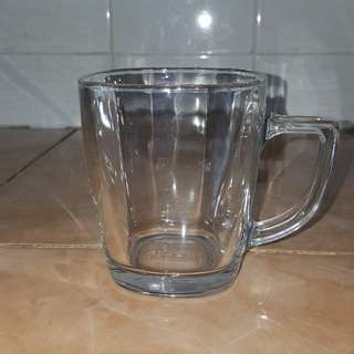 Nescafe glass mug