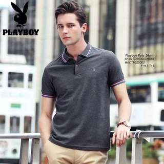 Playboy polo shirt fits S-L