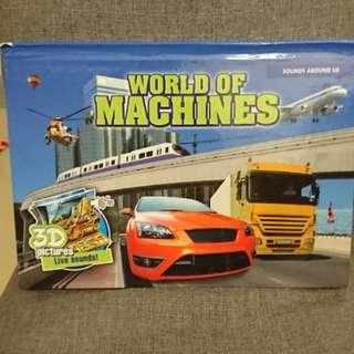 3D Book - World of machines