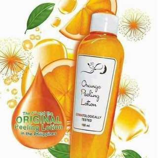 original orange peeling lotion