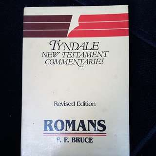 Tyndale New Testament Commentaries Romans F.F. Bruce