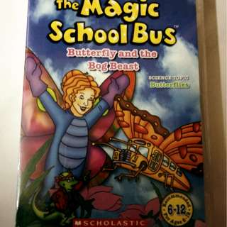 The Magic School Bus - Butterfly and the bog beast DVD