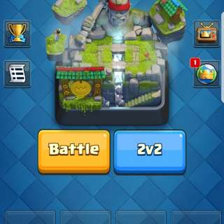clash royale arena 10 listing fr sale from 65 - 70 dollars