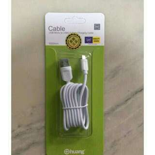 iOS and Android USB Cable
