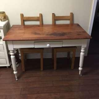 Harvest table and wine rack unit
