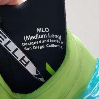 Xterra entry wet suit size med long