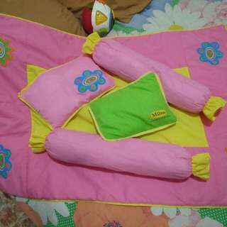 Baby pillow and comforter