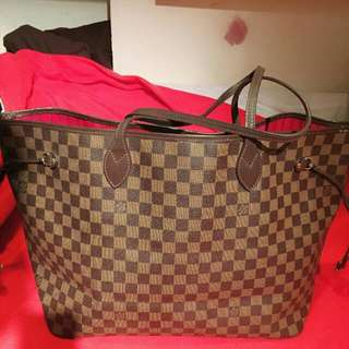 Louis Vuitton Never Fall Large Size 95% New Authentic Only Bag