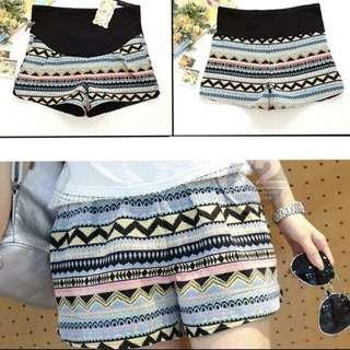 Maternity Shorts-Pattern