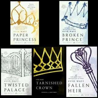 The Royal Book Series by Erin Watt