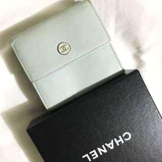 Authentic Chanel Bifold Wallet NOT Hermes Ysl LV Celine Loewe