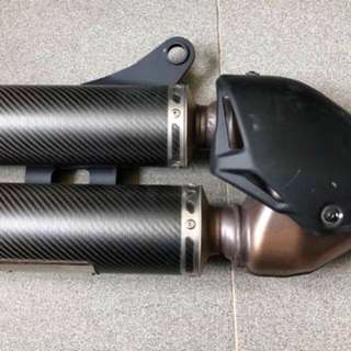 Termignoni D147 Exhaust Pipe (Ducati Monster 821)