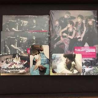 SHINee Sherlock Japanese Single Limited and Standard Edition