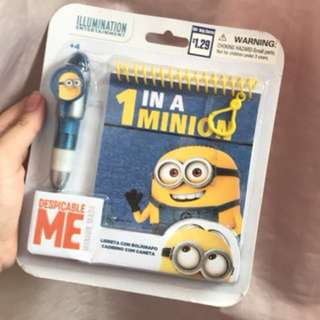 Minion Pen and Notebook Pack