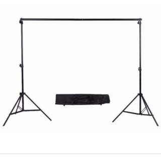 Portable Backdrop Stand 2M x 2M
