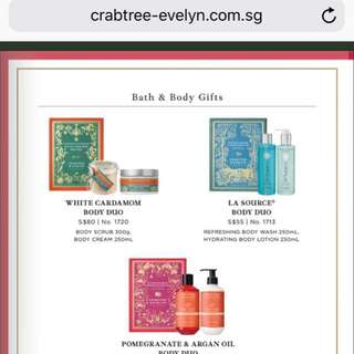 Crabtree and Evelyn - La Source Body Duo Gift Set