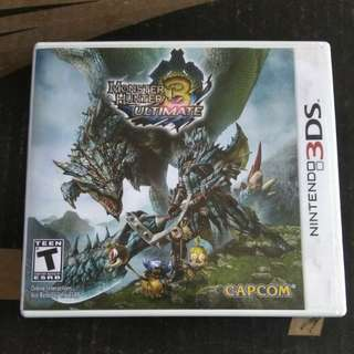 Monster Hunter 3 Ultimate for 3DS