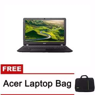 """Acer ES1-432-C79F 4GB 500GB 14"""" Win10 (Black) with Free Laptop Bag 