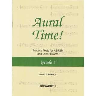 Aural Time! Practice Tests for ABRSM Grade 5