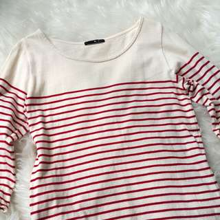 Red stripes Tshirt #CNY2018