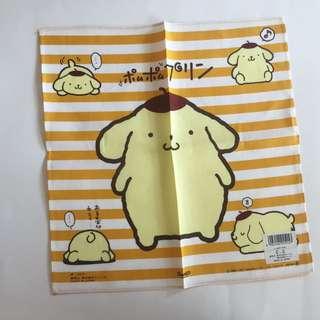 Sanrio vintage 布甸狗 手巾 1997