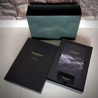 VERY RARE BRAND NEW EXCLUSIVE LIMITED AUDEMARS PIGUET 2018/19 HARD BOX CALENDAR