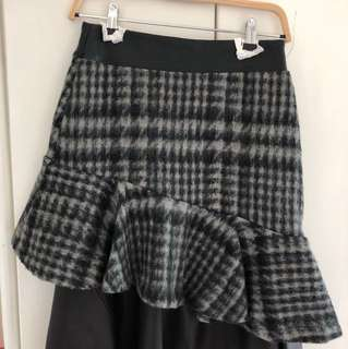 Korea winter skirt