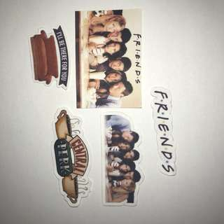Iconic friends stickers