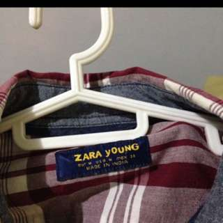 Zara lingsleeves polo fits small