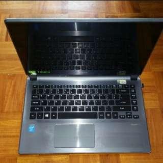 """Acer i5 14"""" Touchscreen Ultrabook (Aspire V5-473p)"""