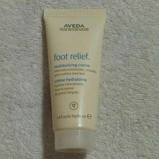 BN Aveda Foot Relief moisturizing creme