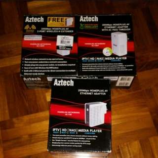 Aztech Home plugs - All for $50