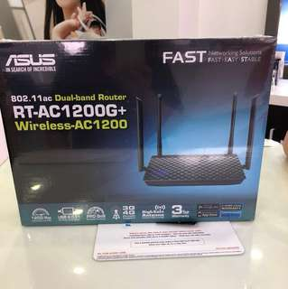 Brand new ASUS RT-AC1200G+