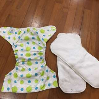 First come first basis Cloth diapers used hardly twice