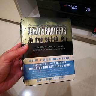 Many Original Bluray Movie/Drama/Music for sale! Band of Brothers Full Series. Moving house, Cheap $40.