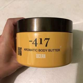 Aromatic Body Butter -417 #huat50sale