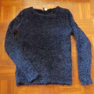H&M Fur Pullover