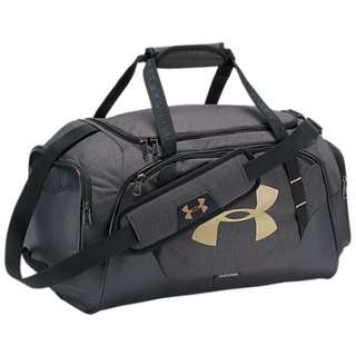 CHEAP! BNWT SEALED UNDER ARMOUR STORM UNDENIABLE 3.0 SMALL DUFFEL BAG BLACK-GOLD