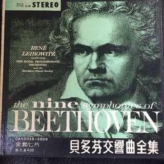 黑膠 貝多芬交響曲全集(全套7片)