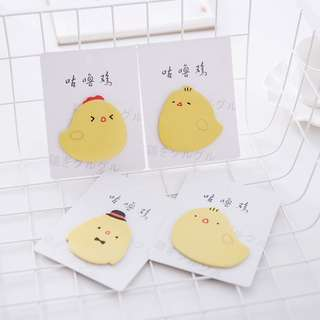 Yellow Chicken Sticky Notes / Memo Pad / Post-it [SN06]