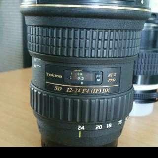 Nikon 12-24mm F4 Nikonmount