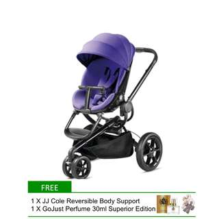 Quinny Moodd (Purple Pace) Stroller (No Delivery To Sabah & Sarawak due to bulky size)