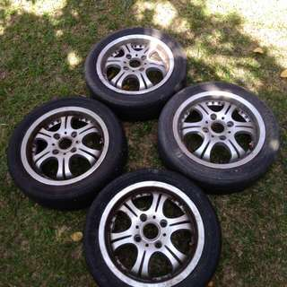 Rims 14 inches (PCD 4X110)