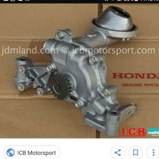 Looking oil pump fd2r