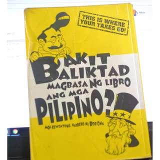 Bakit Baliktad Magbasa ng Libro ang mga Pilipino? Mga Kwentong Barbero ni Bob Ong by Bob Ong