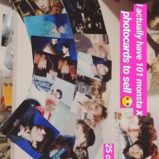 73 Monsta X photocards kpop
