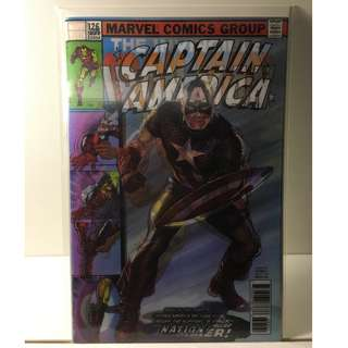 Captain America #695 - Lenticular Motion Cover - Marvel Comics