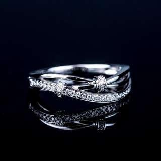 18KWG Diamond Ring (Diamond x13pcs- 0.08cts)